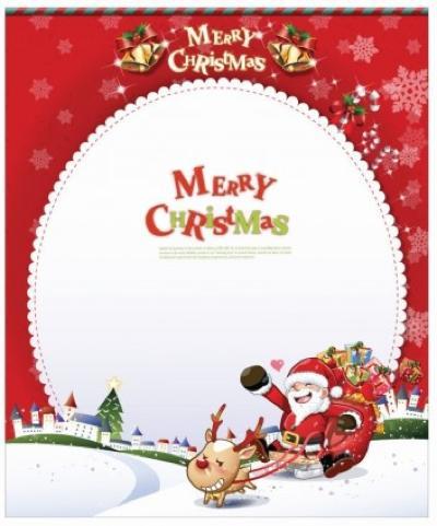 クリスマス,カード,テンプレート,子供