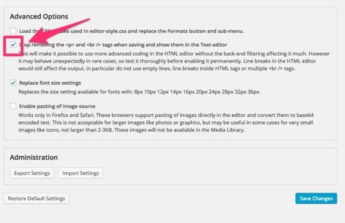 TinyMCE Advanced,設定,使い方,WordPress,プラグイン