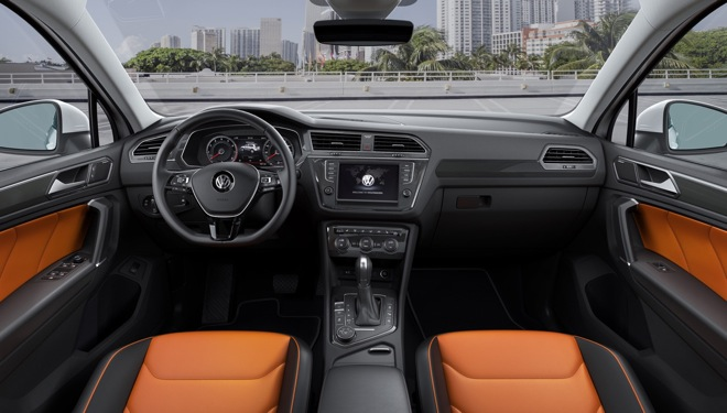 VW,新型,ティグアン,インテリア