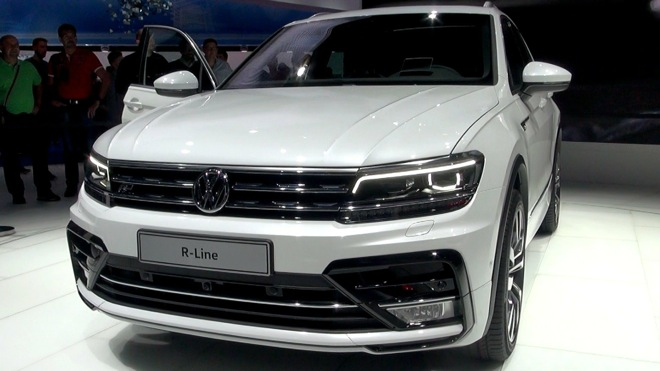 VW,2016,ティグアン,フロント,画像