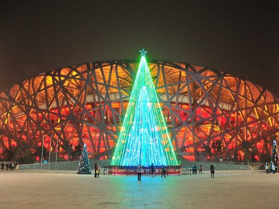 クリスマス,夜景,イルミネーション,海外,画像