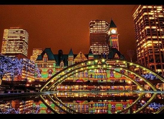 クリスマス,画像,夜景,ライトアップ,世界,名所