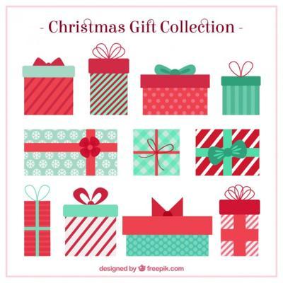 フリー素材 , クリスマス,プレゼント,イラスト,無料,フリー素材